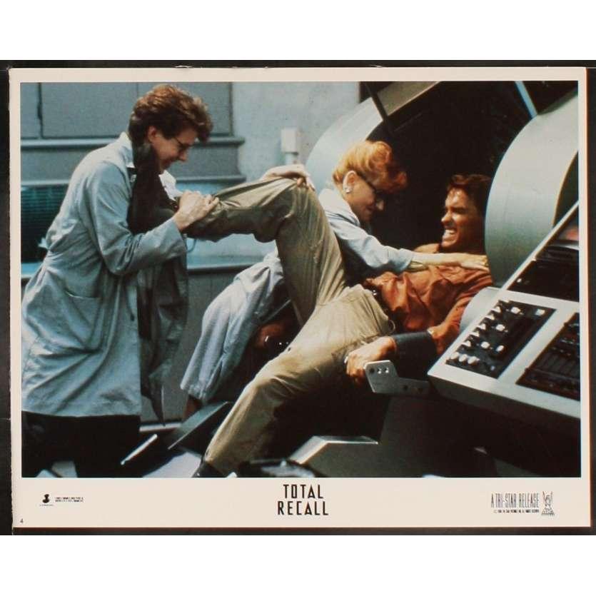 TOTAL RECALL US Lobby Card 11x14- 1990 - Paul Verhoeven, Arnold Schwarzenegger