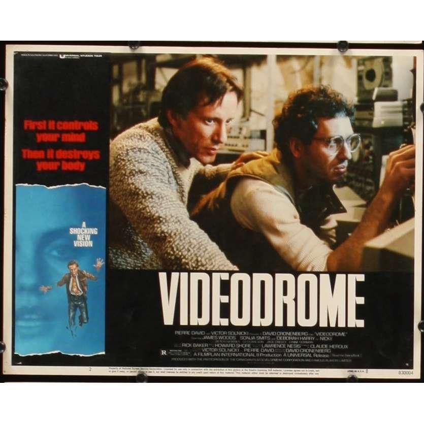 VIDEODROME Photo de film N3 28x36 - 1984 - James Woods, David Cronenberg