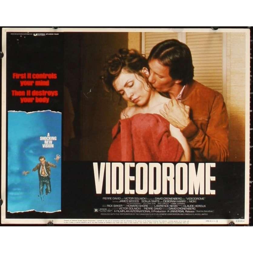 VIDEODROME Photo de film N8 28x36 - 1984 - James Woods, David Cronenberg