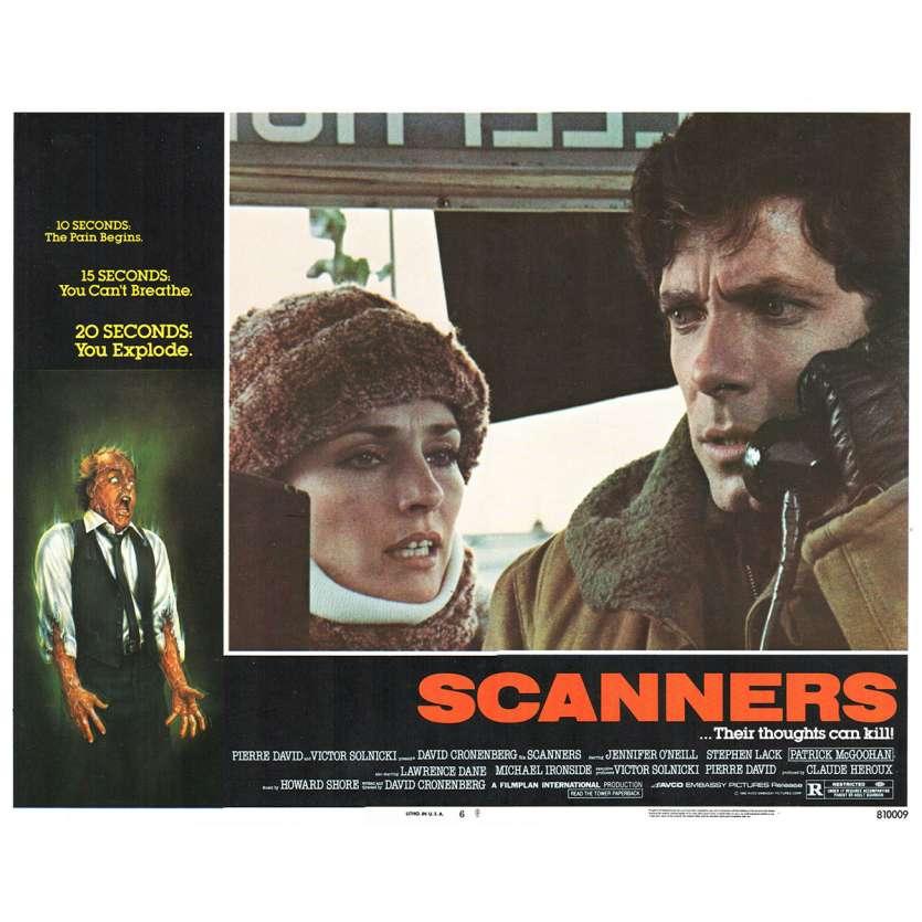 SCANNERS Photo de film N5 28x36 - 1981 - Patrick McGoohan, David Cronenberg