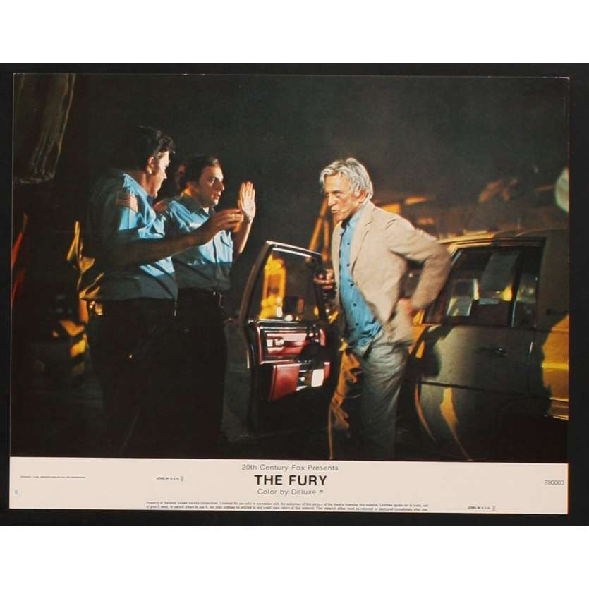 FURIE Photo de film N6 28x36 - 1979 - Kirk Douglas, Brian de Palma