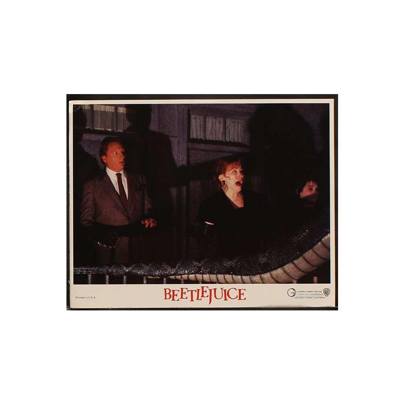BEETLEJUICE Photo de film N2 28x36 - 1988 - Michael Keaton, Tim Burton