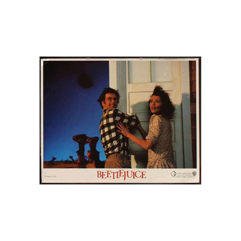 BEETLEJUICE Photo de film N8 28x36 - 1988 - Michael Keaton, Tim Burton