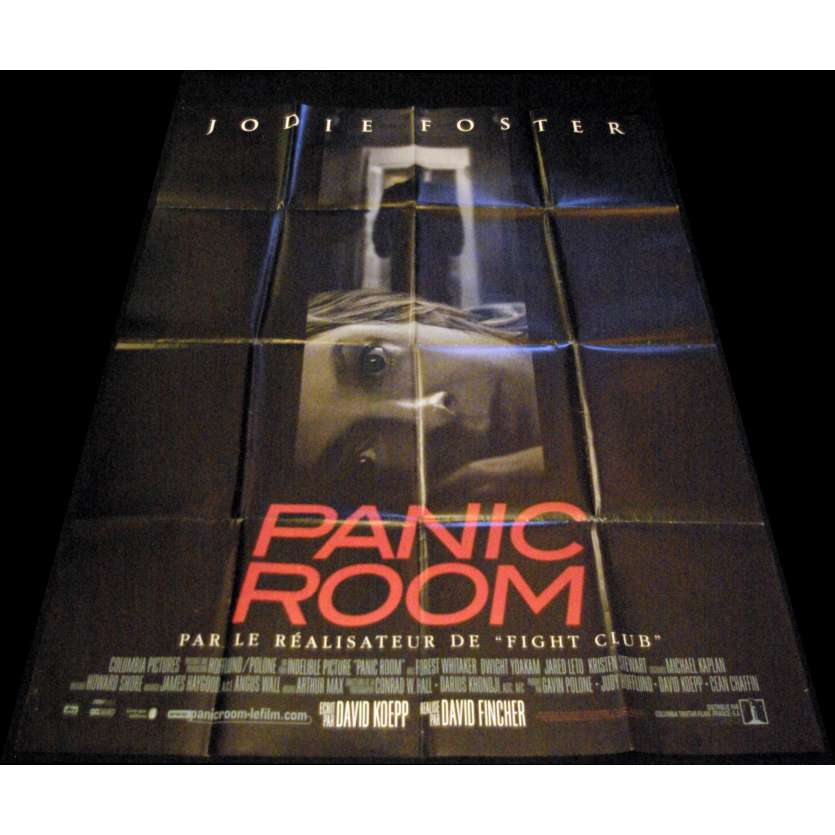 PANIC ROOM French Movie Poster 47x63- 2002 - David Fincher, Jodie Foster