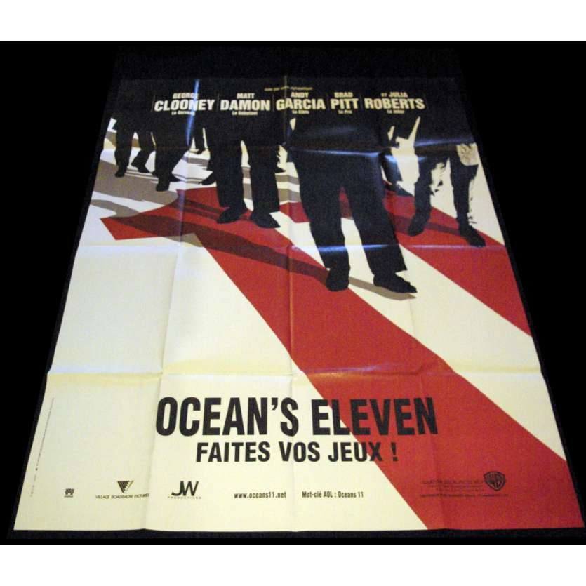 OCEAN'S ELEVEN ADV French Movie Poster 47x63- 2001 - Steven Soderbergh, George Clooney