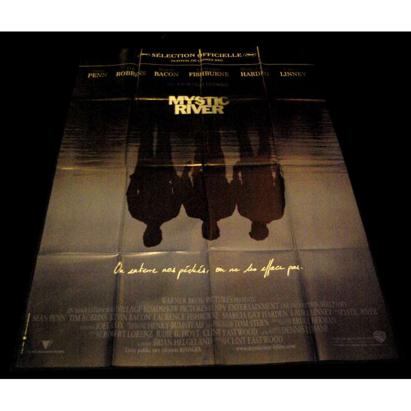 MYSTIC RIVER French Movie Poster 47x63- 2003 - Clint Eastwood, Sean Penn