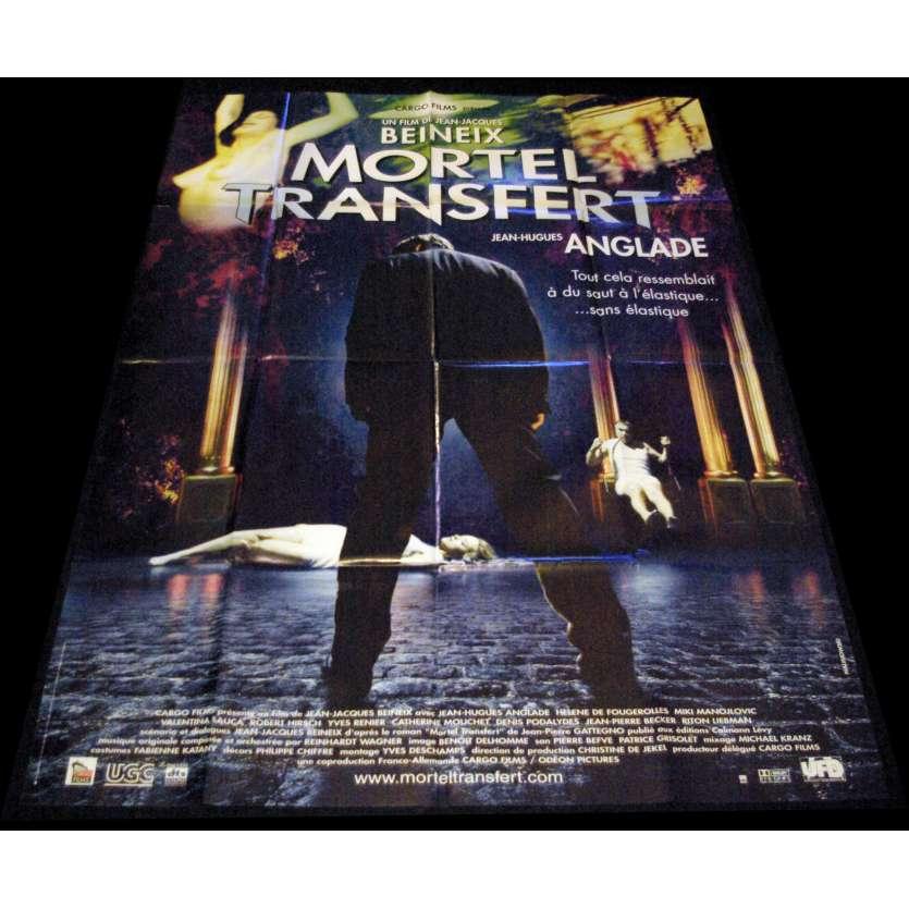 MORTEL TRANSFERT Affiche de film 120x160 - 2001 - Jean-Hugues Anglade, Jean-Jacques Beineix