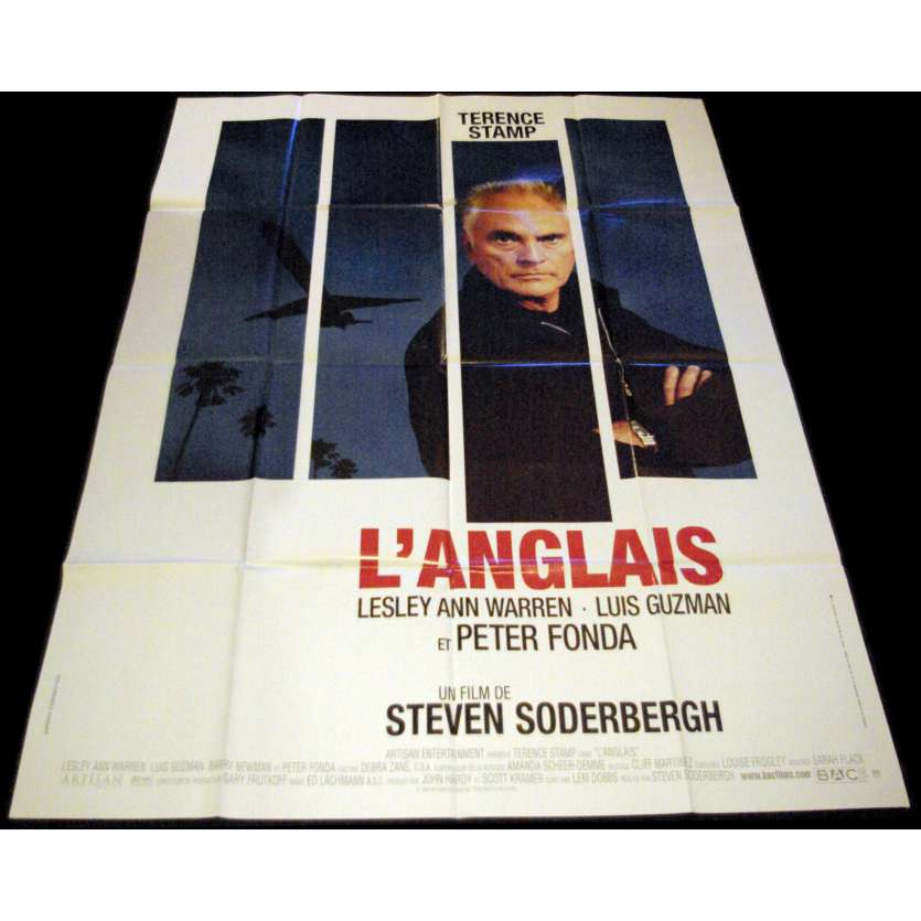 THE LIMEY French Movie Poster 47x63- 1999 - Steven Soderbergh, Terence Stamp