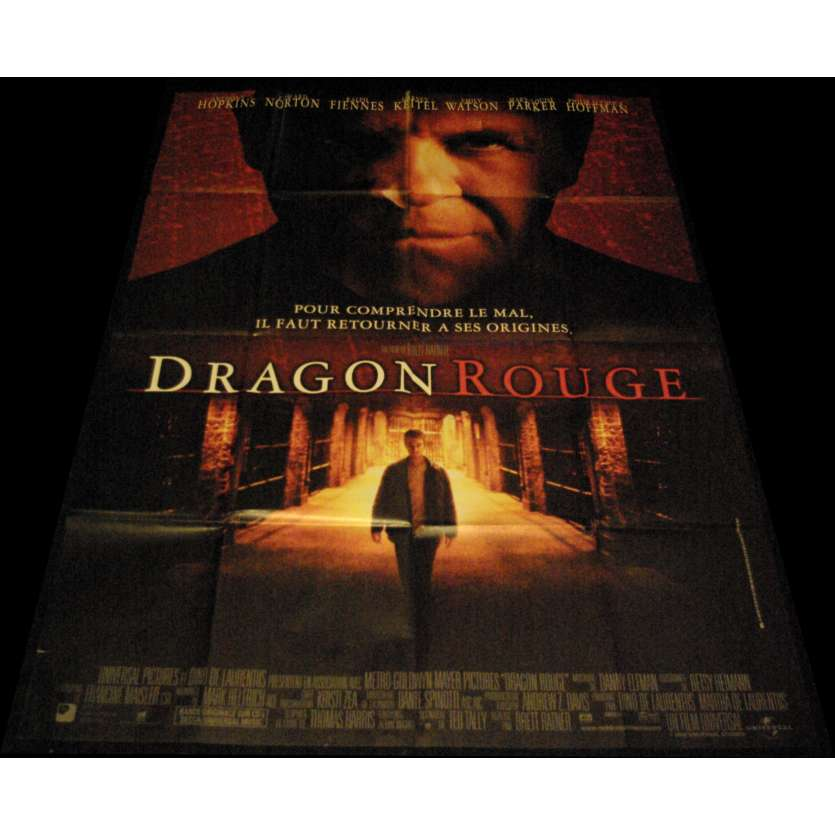 RED DRAGON French Movie Poster 47x63- 2002 - Brett Ratner, Anthony Hopkins