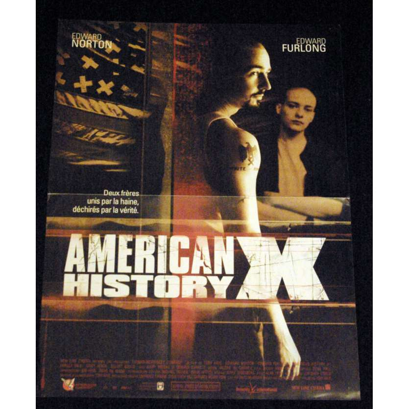 AMERICAN HISTORY X French Movie Poster 15x21- 1998 - Tony Kaye, Edward Norton