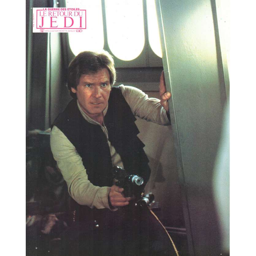 STAR WARS - THE RETURN OF THE JEDI French Lobby Card 3 8x11 - 1983 - Richard Marquand, Harrison Ford
