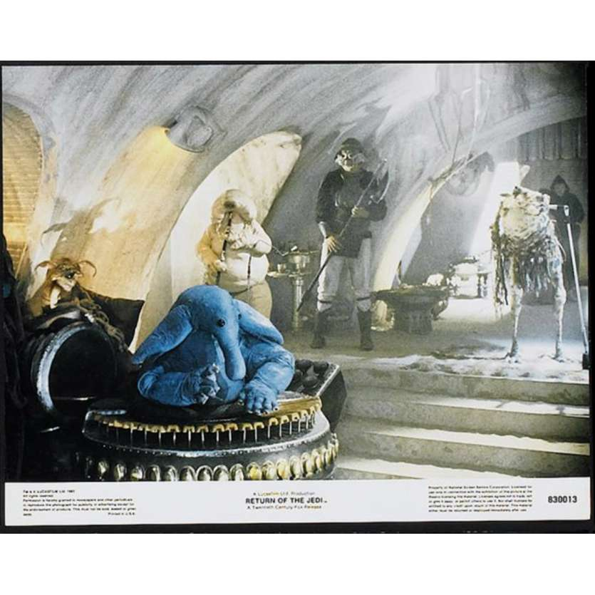 STAR WARS - THE RETURN OF THE JEDI US Lobby Card 3 11x14 - 1983 - Richard Marquand, Harrison Ford