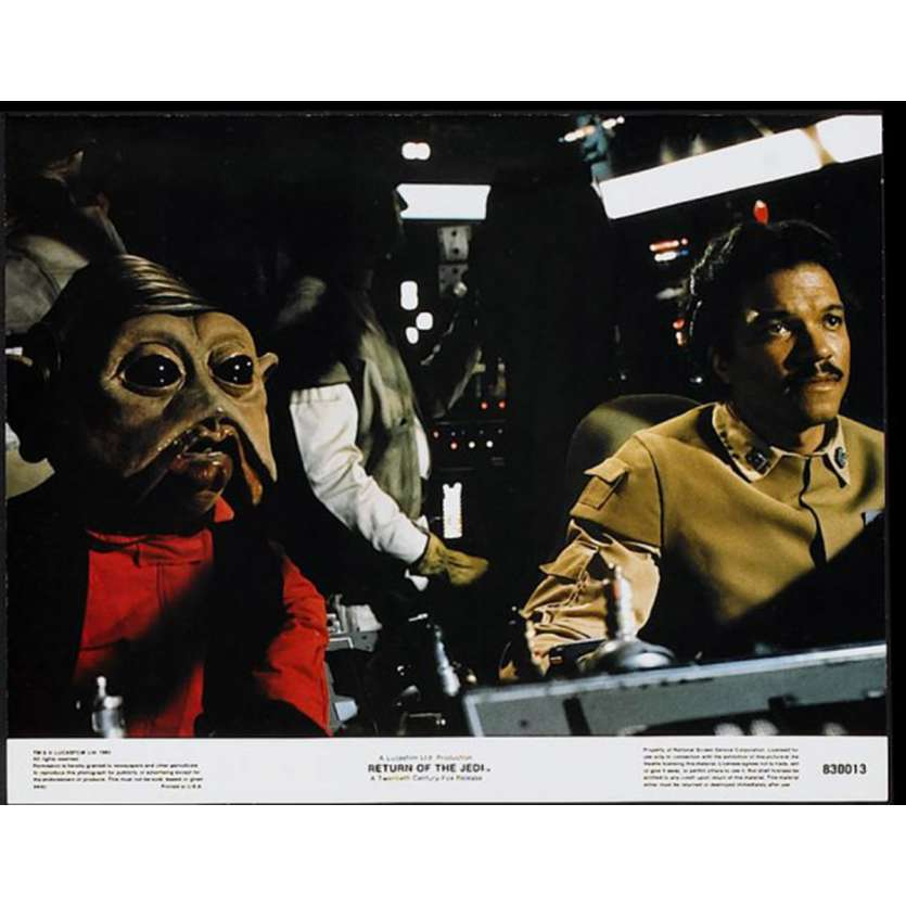 STAR WARS - THE RETURN OF THE JEDI US Lobby Card 6 11x14 - 1983 - Richard Marquand, Harrison Ford