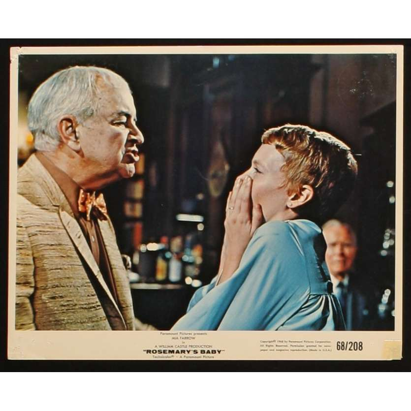 ROSEMARY'S BABY US Movie Still 3 8x10- 1968 - Roman Polanski, Mia Farrow