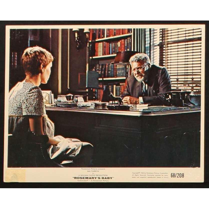 ROSEMARY'S BABY Photo de film 1 20x25 - 1968 - Mia Farrow, Roman Polanski