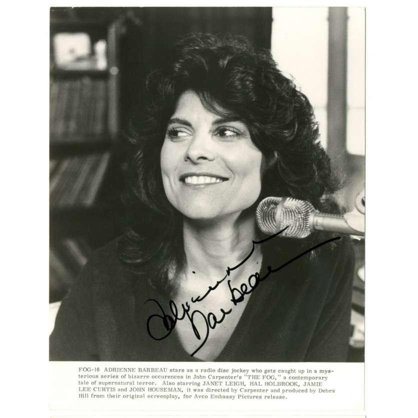 ADRIENNE BARBEAU Signed Still 8x10 - 1980 - Fog, John Carpenter