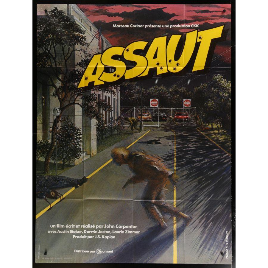 Les plus belles affiches de cinéma - Page 2 Assaut-affiche-de-film-120x160-1976-john-carpenter