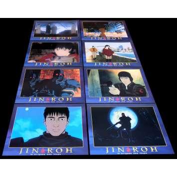 JIN ROH French Lobby Cards 9x12- 1999 - Mamoru Oshii, Yoshikazu Fujiki