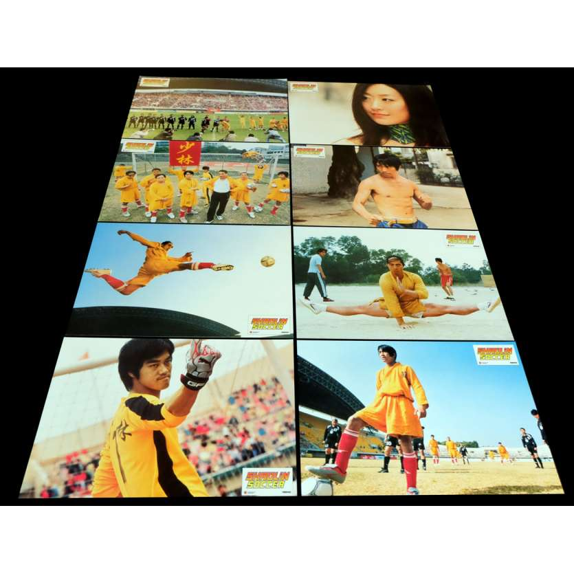SHAOLIN SOCCER French Lobby Cards 9x12- 2001 - Stephen Chow, Wei Zhao