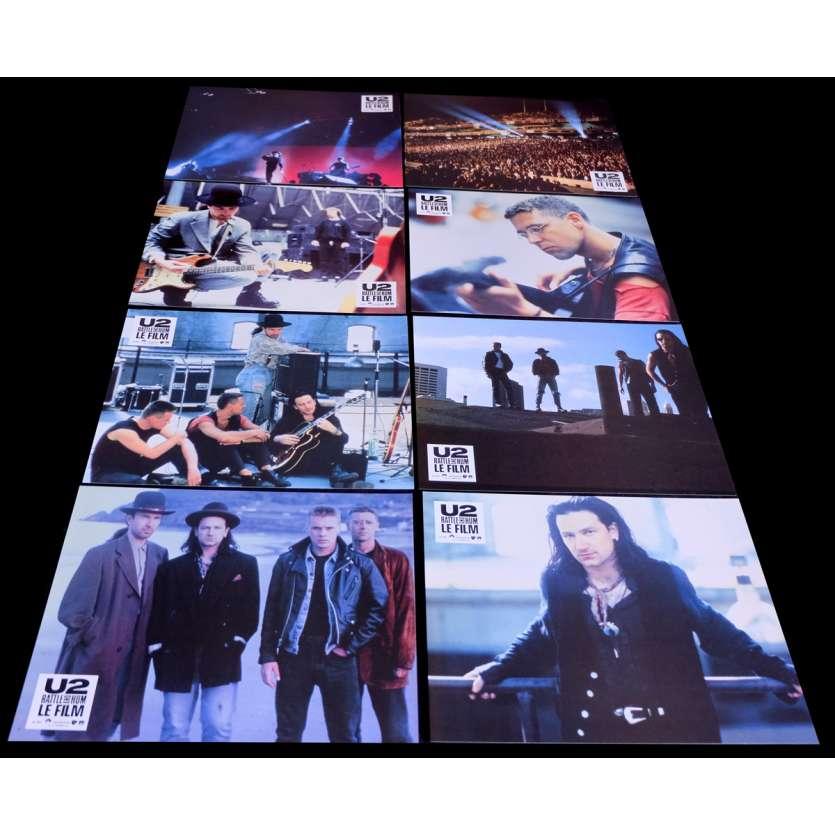 U2 French Lobby Cards 9x12- 1988 - Phil Joanou, Bono