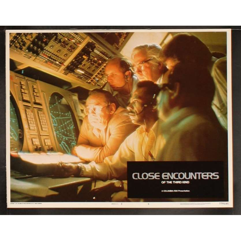CLOSE ENCOUNTERS OF THE THIRD KIND US Lobby Card 8 8x10- 1977 - Steven Spielberg, Richard Dreyfuss