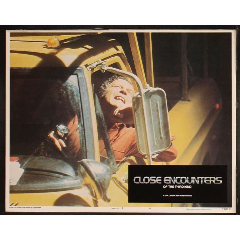 CLOSE ENCOUNTERS OF THE THIRD KIND US Lobby Card 7 8x10- 1977 - Steven Spielberg, Richard Dreyfuss