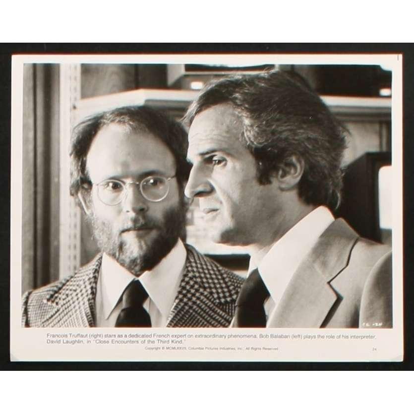 RENCONTRES DU 3E TYPE Photo de Presse 2 20x25 - 1977 - Richard Dreyfuss, Steven Spielberg