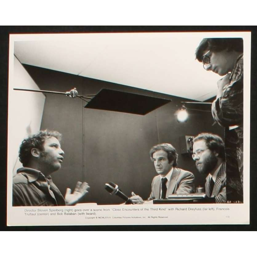 CLOSE ENCOUNTERS OF THE THIRD KIND US Still 1 8x10- 1977 - Steven Spielberg, Richard Dreyfuss