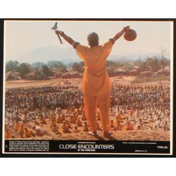 CLOSE ENCOUNTERS OF THE THIRD KIND US Lobby Card 2 8x10- 1977 - Steven Spielberg, Richard Dreyfuss
