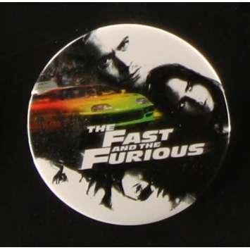 FAST AND FURIOUS Badge Américain d'époque