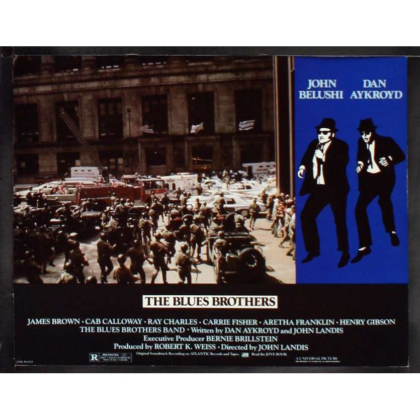 THE BLUES BROTHERS US Lobby Card 4 11x14 - 1981 - John Landis, John Belushi