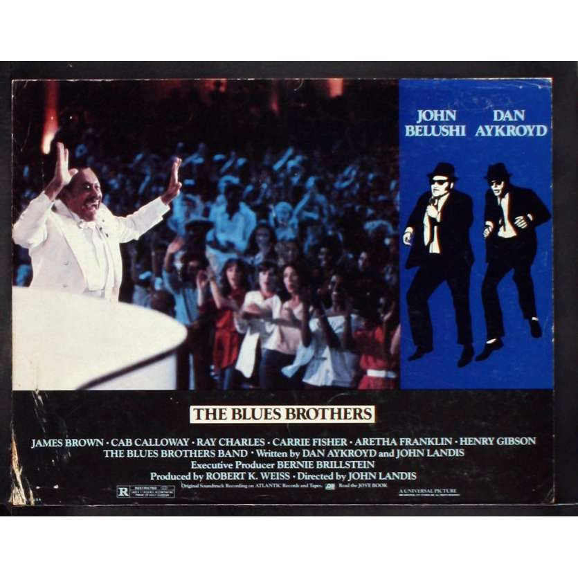 THE BLUES BROTHERS US Lobby Card 6 11x14 - 1981 - John Landis, John Belushi