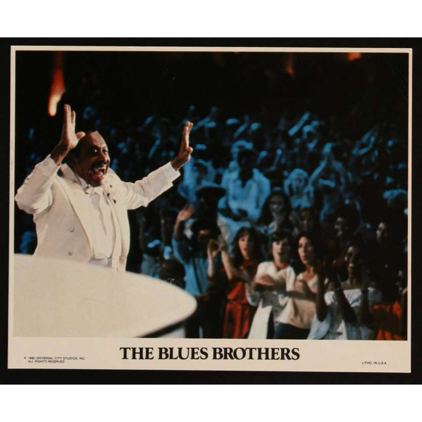 THE BLUES BROTHERS US Lobby Card 2 8x10 - 1981 - John Landis, John Belushi