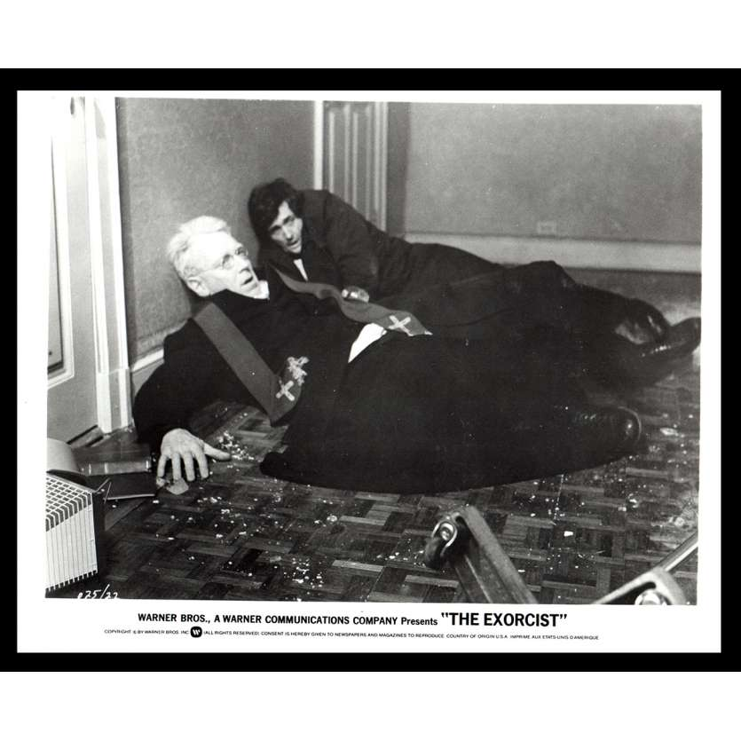 L'EXORCISTE Photo de presse 10 20x25 - 1974 - Max Von Sidow, William Friedkin