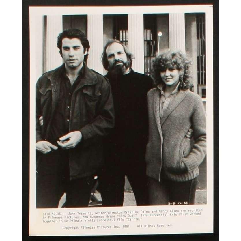 BLOW OUT Photo de presse 11 20x25 - 1981 - John Travolta, Brian de Palma