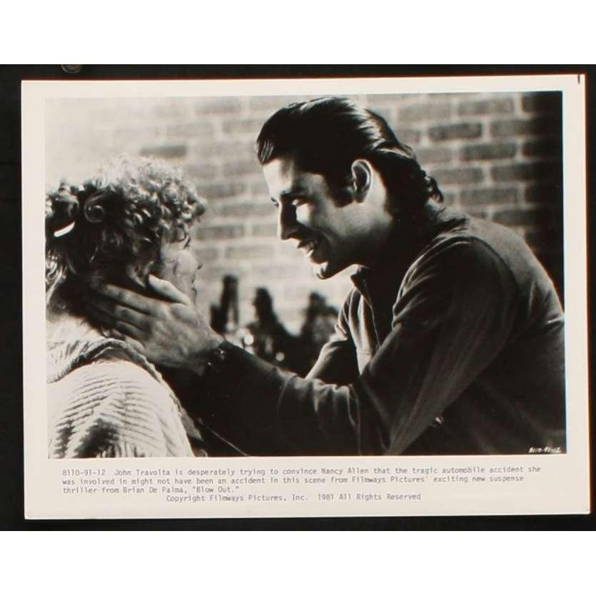 BLOW OUT Photo de presse 8 20x25 - 1981 - John Travolta, Brian de Palma
