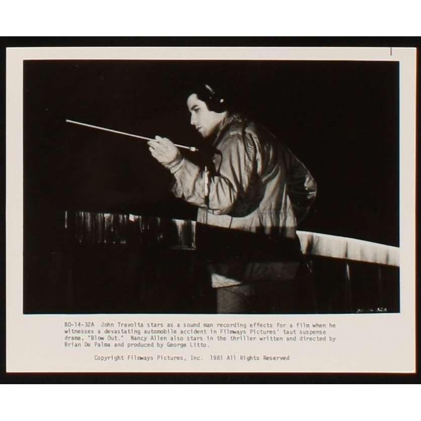 BLOW OUT Photo de presse 4 20x25 - 1981 - John Travolta, Brian de Palma