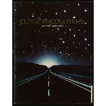 CLOSE ENCOUNTERS OF THE THIRD KIND US Souvenir Program 9x14, 24p - 1977 - Steven Spielberg, Richard Dreyfuss