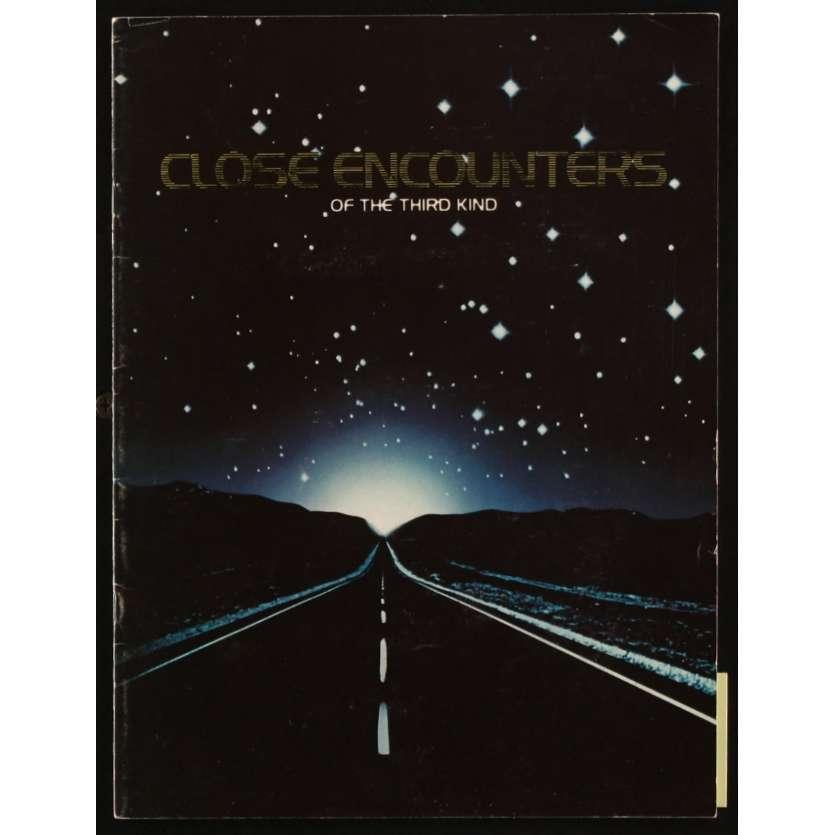 CLOSE ENCOUNTERS OF THE THIRD KIND US Souvenir Program 9x14, 24p - 1977 - Steven Spielberg, Richard Dreyfuss