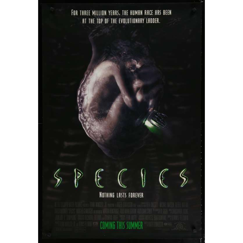 SPECIES US Movie Poster 27x40 - 1995 - ,