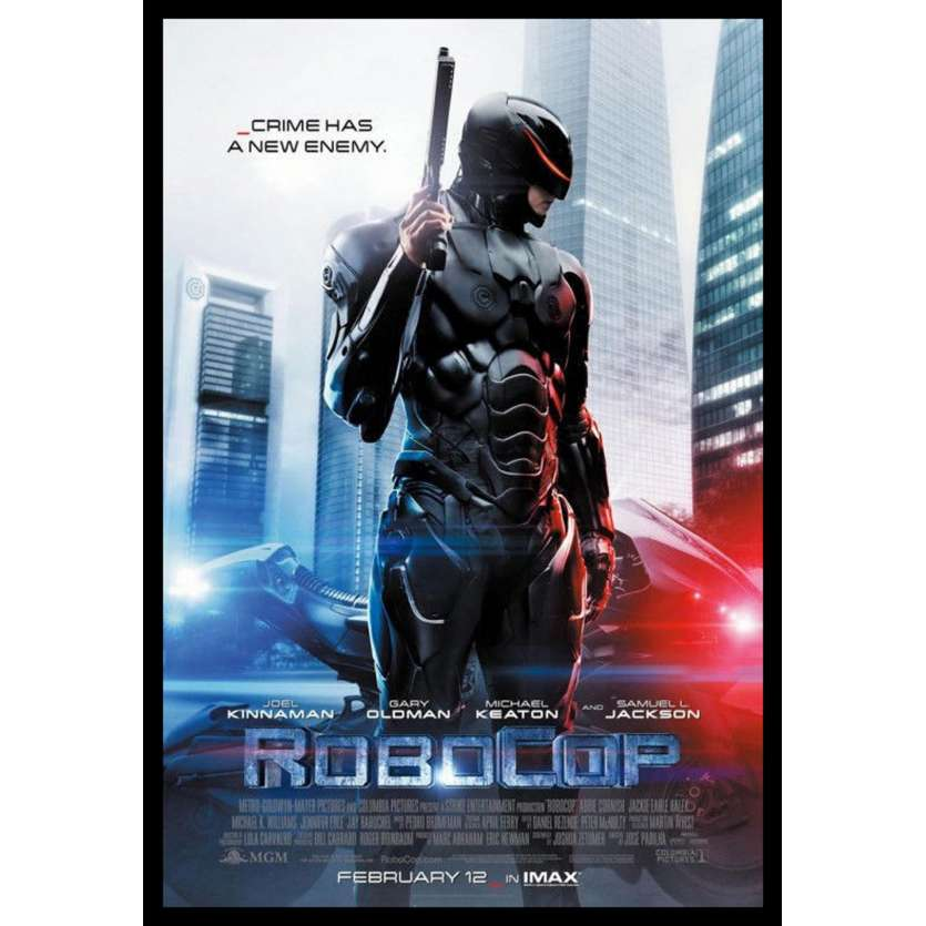 ROBOCOP US Movie Poster 27x41 - 2013 - ,