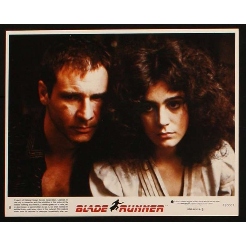 BLADE RUNNER US Color Still 1 8x10 - 1982 - Ridley Scott, Harrison Ford