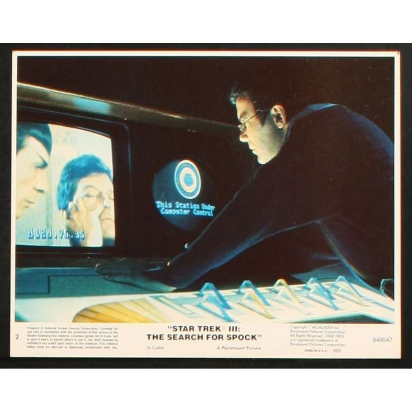 STAR TREK III Photo 2 20x25 - 1984 - Leonard Nimoy,