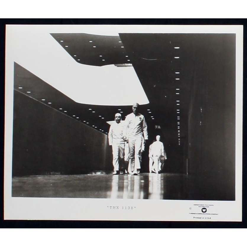 THX 1138 US TV Still 5 8x10 - R1980 - George Lucas, Robert Duvall