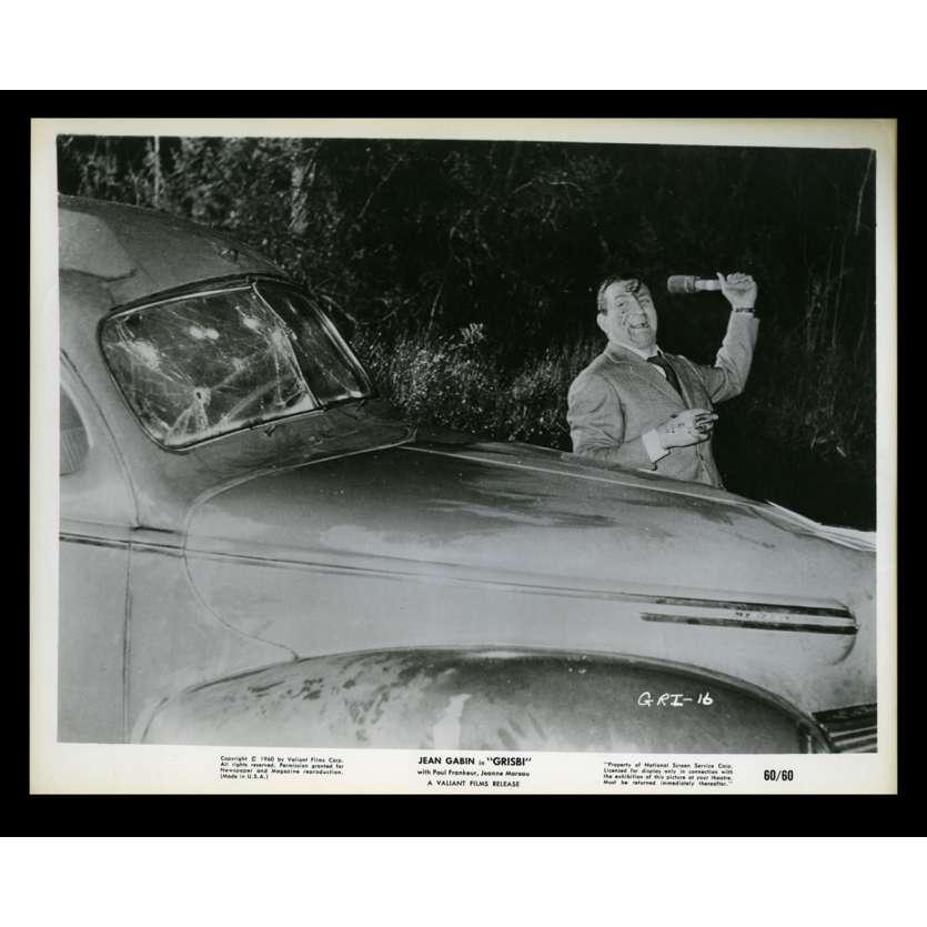 TOUCHEZ PAS AU GRISBI Photo de presse 7 20x25 - 1960 - Jean Gabin, Lino Ventura, Jacques Becker