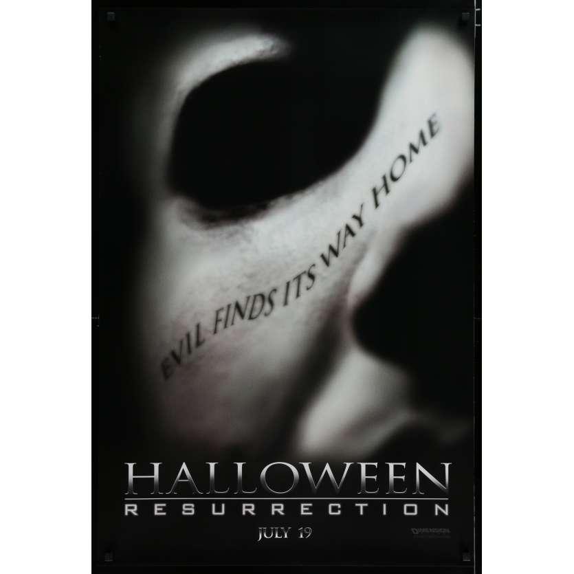 HALLOWEEN RESURRECTION US Movie Poster 29x41 - 2002 - Rick Rosenthal, Jamie Lee Curtis