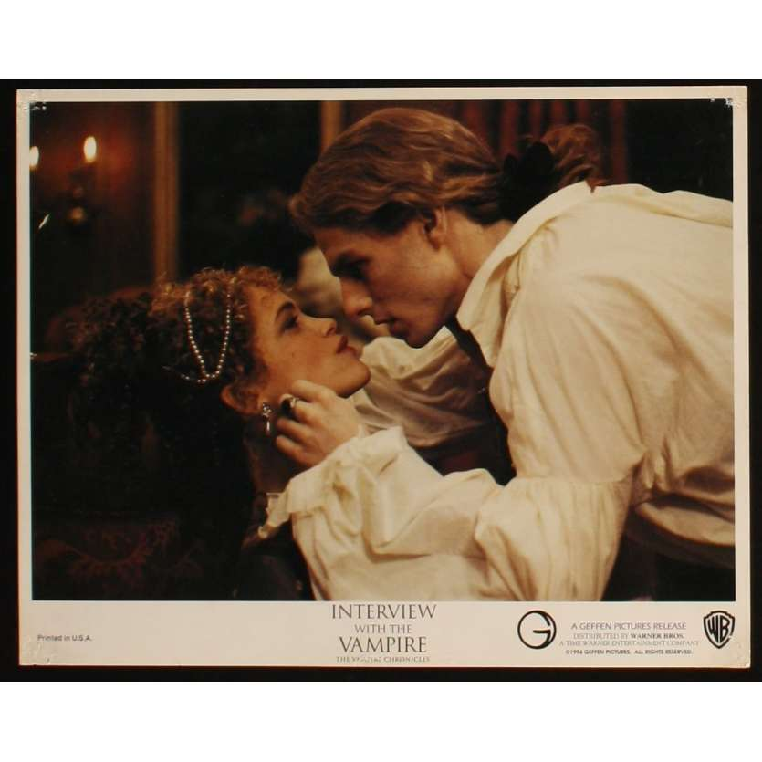 INTERVIEW WITH THE VAMPIRE US Lobby Card 3 11x14 - 1994 - Neil Jordan, Tom Cruise