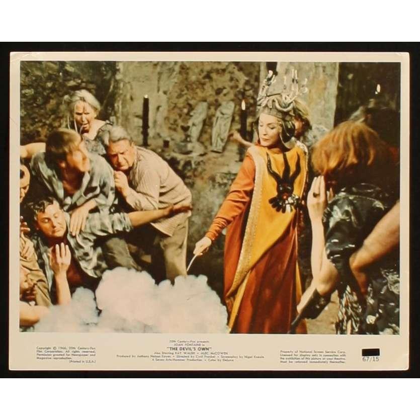 DEVIL'S OWN US Movie Still 2 8x10 - 1967 - Cyril Frankel, Joan Fontaine