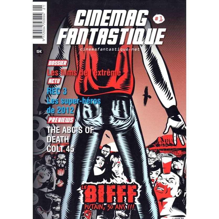 CINEMAG FANTASTIQUE N01 Fanzine 21x30 - 2014