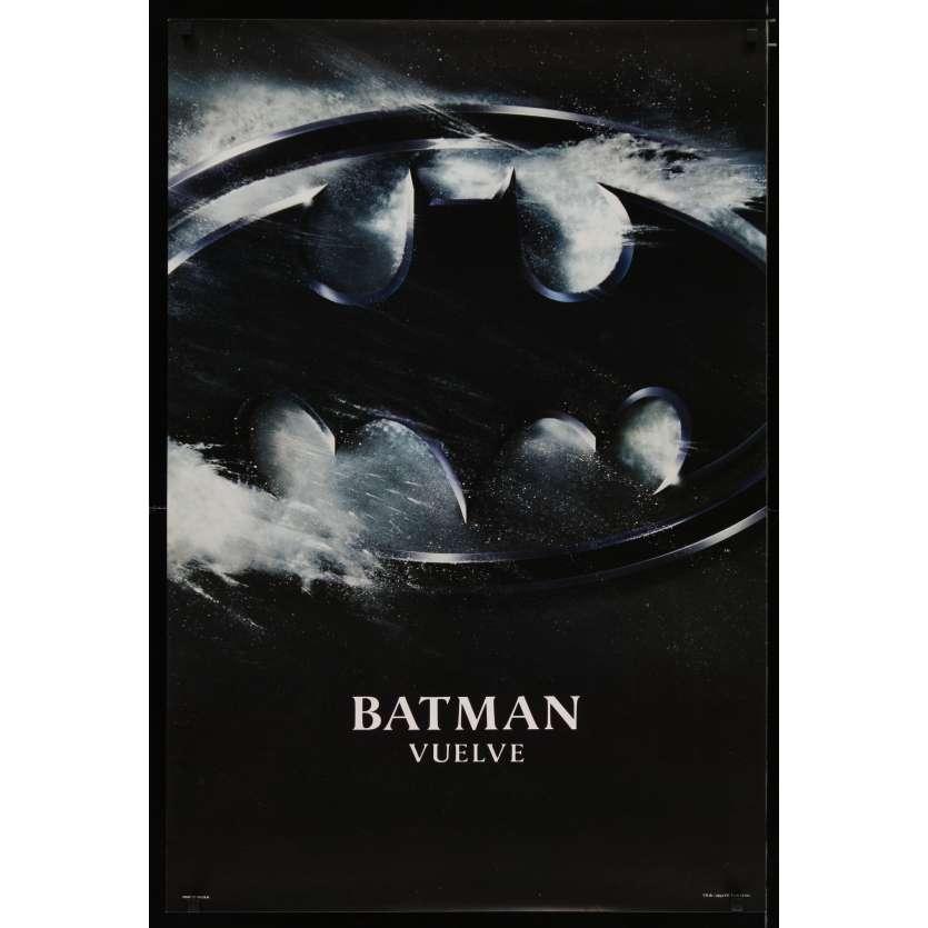 BATMAN LE DEFI Affiche de film 69x104 - 1992 - Teaser, Tim Burton